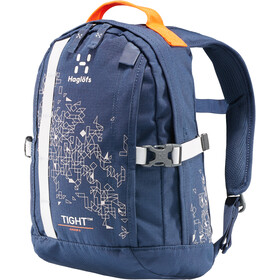 Haglöfs Tight Junior 8 Backpack Barn tarn blue/stone grey